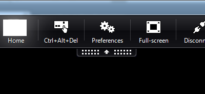 Show Citrix Connection Bar