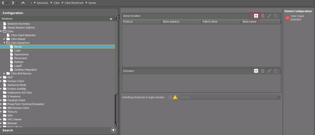 configuring igel citrix profile